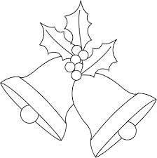 Christmas Bells Coloring Pages In Bells - itgod.me