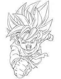 Small Picture Son Goku Coloring Pages Coloring Pages son goku coloring pages