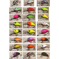 Crankbait Color Chart Arkie Lures Inc 350 Series Deep Diving Crankbait Color