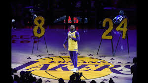 Los Angeles Lakers Pay Tribute To <b>Kobe Bryant</b> - YouTube