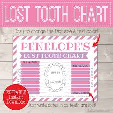 Here are some easy ways to get kids to care more about dental hygiene, including a free printable tooth brushing chart and helpful resources. Certificate From Tooth Fairy Printable Letter Missing Teeth Chart Instant Download First Lost Pdf Template For Girl Last Minute Gift Idea By Madi Loves Kiwi Printables Shop Catch My Party