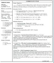 One Page Resume One Page Resumes Nice One Page Resume Les Resume