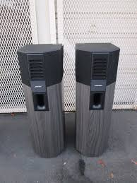 bose 701 series 1. pair original series i bose 701 direct/reflecting stereo floor standing speakers 1