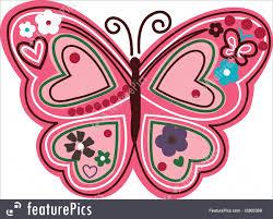 Cartoon Design Illustration Of Butterfly Cartoon Design