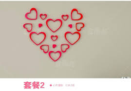 >heart wall decoration heart wall decoration far fetched hanging  heart wall decoration heart wall decoration far fetched hanging hearts decor craft room 2 heart shaped 3d wall decorations