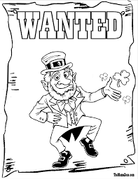 Small Picture brilliant st patricks day coloring page with leprechaun coloring