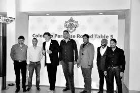 colombo paradise round table 5 inducts celebrity chef as honorary member
