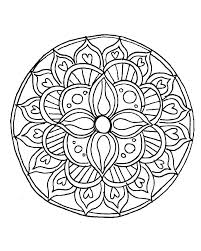Coloring Mandala Coloring Pages For Adults Printable Elephant