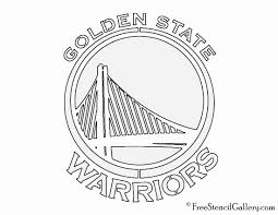 golden state warriors coloring pages beautiful logo page free printable at of stock