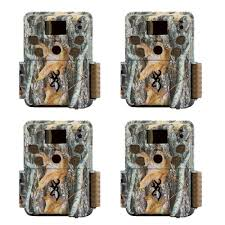 Browning Trail Cameras Strike Force Pro HD 18MP Game Camera, 4 Pack | BTC-5HD-P