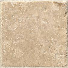 tumbled travertine floor and wall tile 1 sq ft case