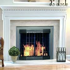 18 inch electric fireplace insert electric fireplace insert pleasant hearth fireplace screen in brown electric insert