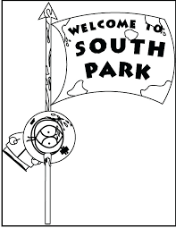 South Park Colouring Pages Cartoons Printable Coloring To Print