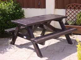 gorgeous recycled plastic picnic bench made from 100 recycled plastic a very eco