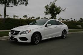 Doesn't someone here have a Mercedes-Benz E550 Coupe? Update ...