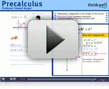 Pre calculus Video lessons