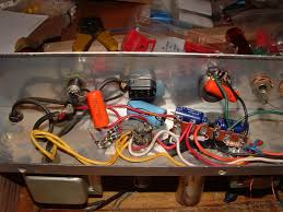 help airline 62 9013a silvertone 1482 issues audiokarma home from the 6x4 pin 7 dc high voltage output you see the 22uf cap light blue xicon end connected directly to it then there is a red wire leading to