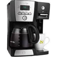 Coffee Maker K Cup And Pot Kitchenaidr 12 Cup Coffee Maker With One Touch Brewing Onyx Black
