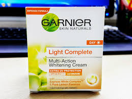 Garnier Light Moisturizer Review Review Garnier Light Complete Multi Action Whitening Cream