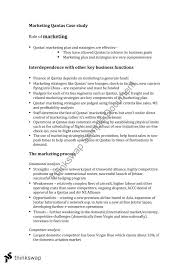 Business Case Study     for HSC business studies Case study  Qantas   Out of Office  Travelogue