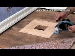 wooden sub flooring repair