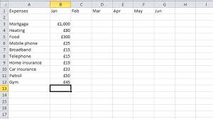 How To Make An Excel Spreadsheet For Budget How To Budget Your Money In Excel Tech Advisor