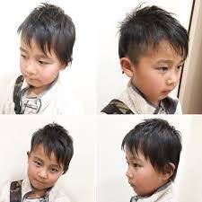 坊主 ショート アシメバング 子供hair Mission 渡海 典子 268655hair