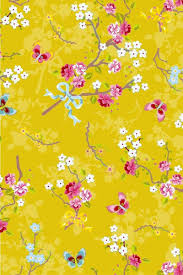 Chinese Rose Wallpaper Yellow Pip Studio The Official Website