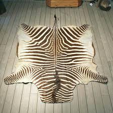 zebra brown rug brown zebra rug 8x10