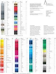 Abs Plastic Color Chart Scientific Abs Plastic Color Chart 2019