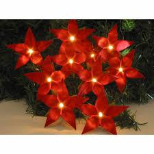 Lichterkette Weihnachtsstern Weihnachtsdekoration