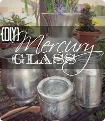 how to make mercury glass diy home decor