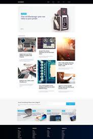Review Page Design In Html Gadnews Electronics Review Moto Cms Html Template