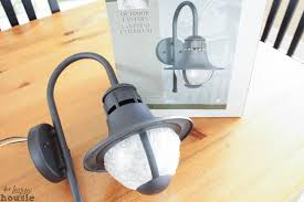 how to turn a light fixture into a plug in light fixture an outdoor light