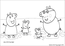 Peppa Pig Coloring Sheets Peppa Pig Coloring Pages Printable Pdf