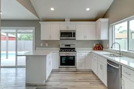 off white shaker kitchen cabinets one source cabinets white shaker kitchen bath cabinets off white quartz