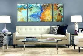 oversized framed abstract wall art