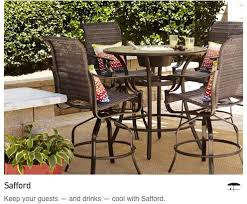 Patio Dining Set Lowes Patio Furniture For Perfect Lowes Patio