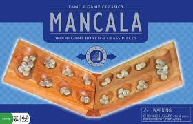 Mancala Wooden Board Game