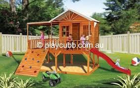 leopard lodge cubby house diy kits playcubb australia