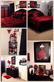 Marvelous Fantastic Red And Black Paris Bedroom 11 For Interior Decor Home With Red  And Black Paris