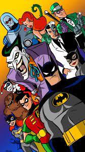 75 batman cartoon wallpapers on ...