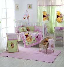 decoration disney babies crib bedding baby girl sets with theme the pooh nursery for set