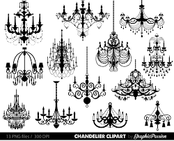 chandelier clip art sbooking chandelier clipart printable vintage chandelier wedding invitation instant