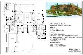 ranch house plans 5000 square feet