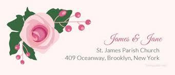 11 Wedding Address Labels Psd Free Premium Templates
