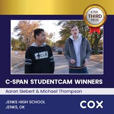 Congratulations to Aaron Siebert &... - C-SPAN StudentCam | Facebook
