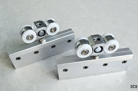 hook roller sliding glass door wheels single assemblies how to replace rollers in aluminum doors