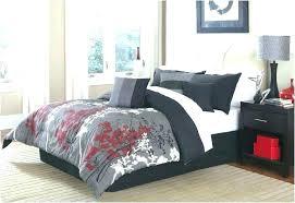 full size of navy blue and grey bedding sets mizone skylar printed duvet cover set gray
