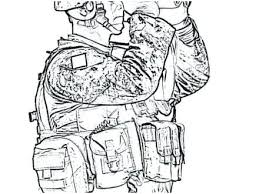 Coloring Pages Of Army Soldiers Predragterziccom
